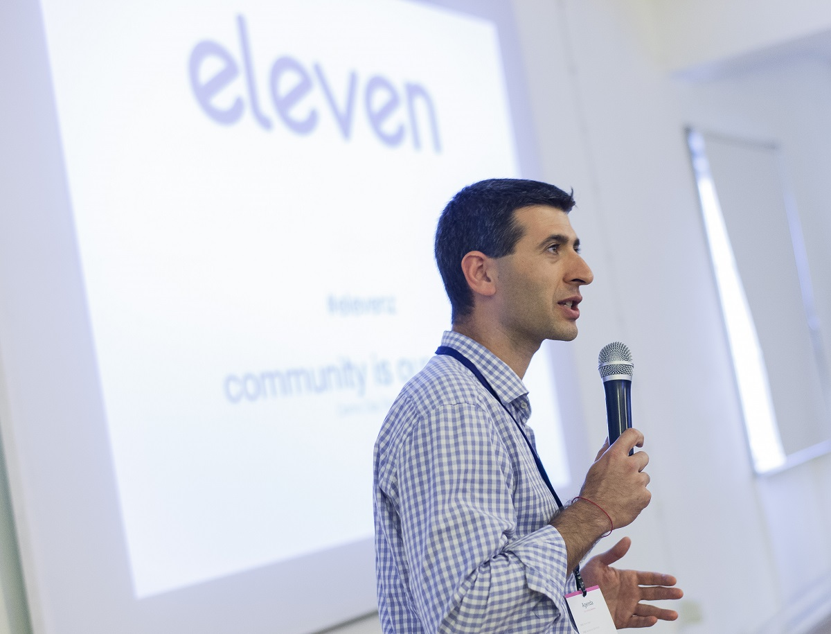 Behind the scenes at Eleven's first Open Demo Day