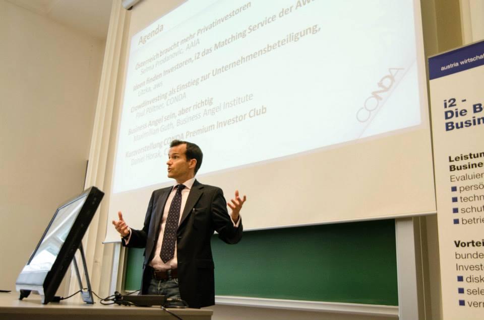 "Conda: ""Austria needs more private investors"""