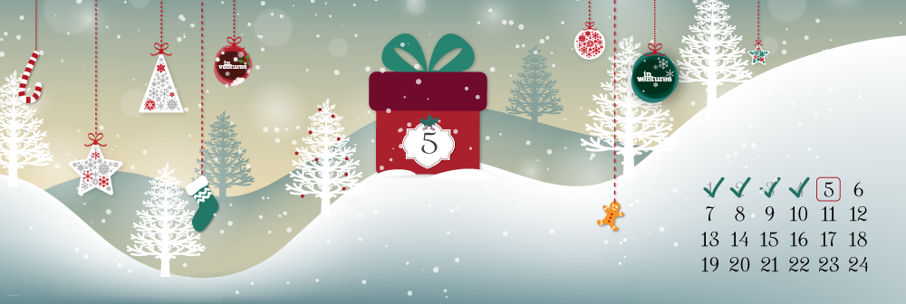DAY 5 of the Startup Xmas Calendar - win a party for your tastebuds