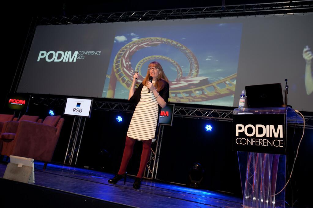 PODIM 2014: 'Enjoy the rollercoaster ride'