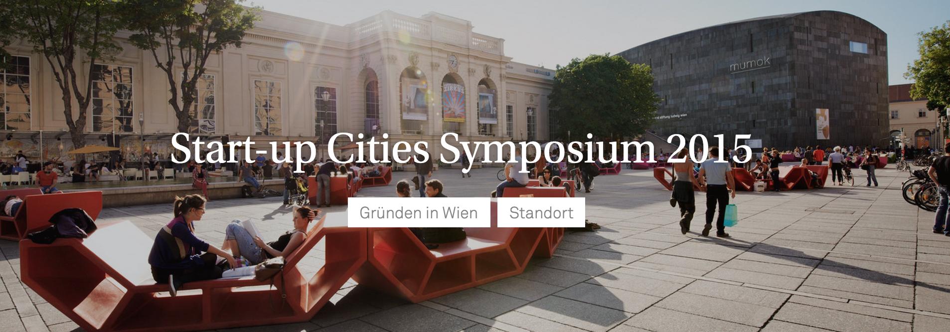 Startup cities symposium