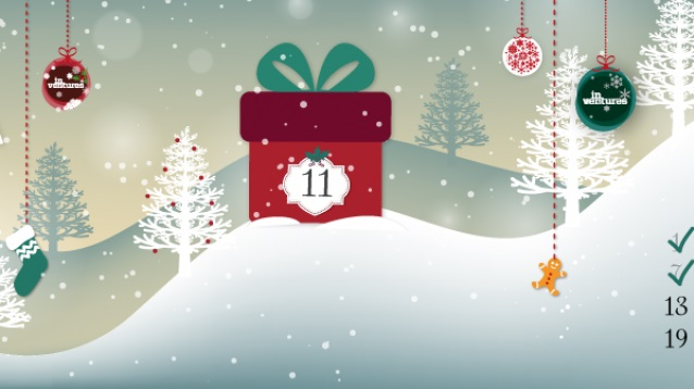 Day 11 of our Xmas Calender gets you on your bikes