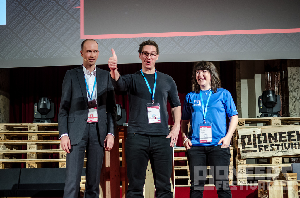 Helioz (almost) wins Pioneers Festival