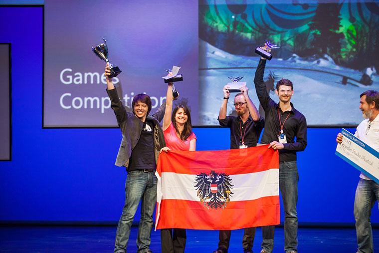 Austria, Slovenia among winners at Imagine Cup