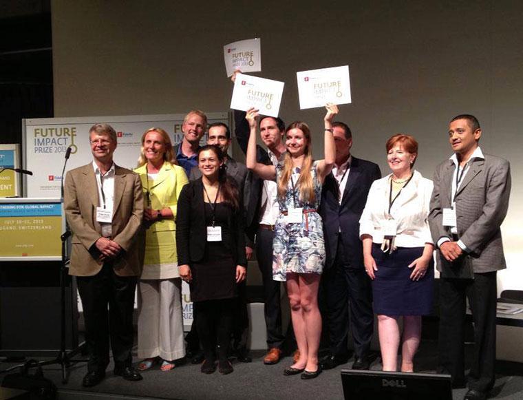 Pragulic wins 2013 Future Impact Prize