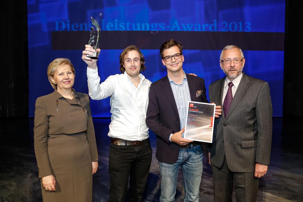 Startup mybonus awarded as best service company