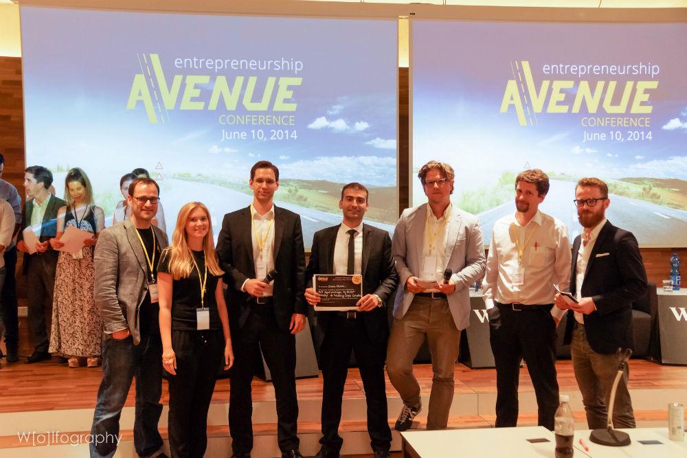 Entrepreneurship Avenue awards GreenVision