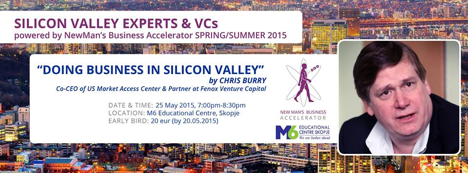 """Lecture + Q&A: """"DOING BUSINESS IN SILICON VALLEY"""""""