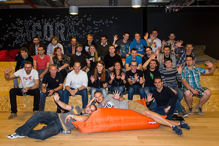 Wayra Prague moves in