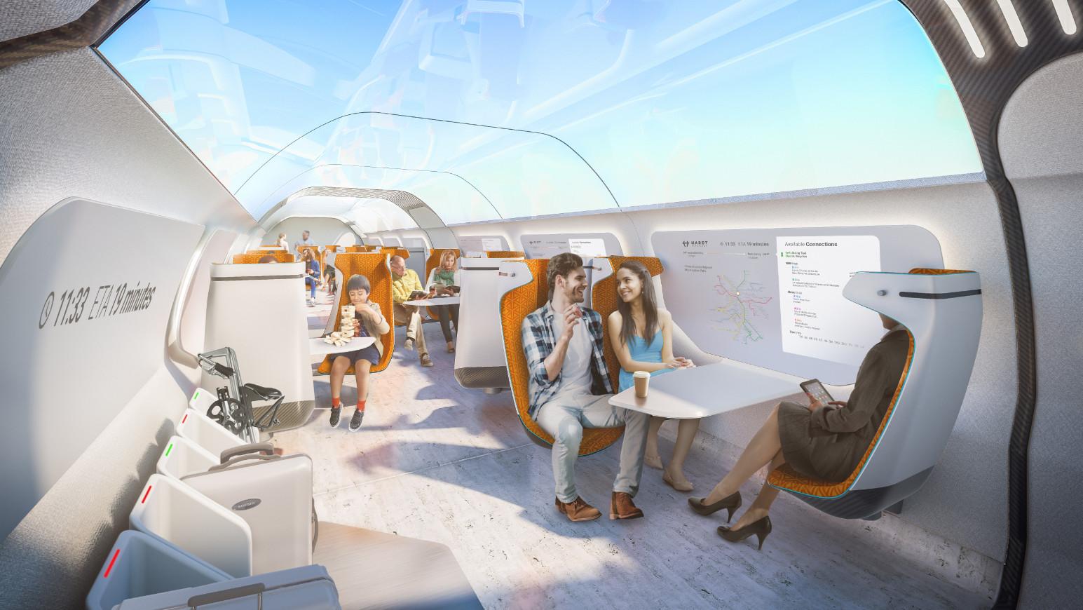 Amsterdam to Frankfurt in 50 mins? Dutch hyperloop startup ...