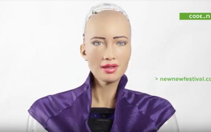 Sophia humanoid robot to open new.New Festival in Stuttgart