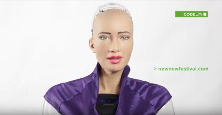 sophia robot new.new festival