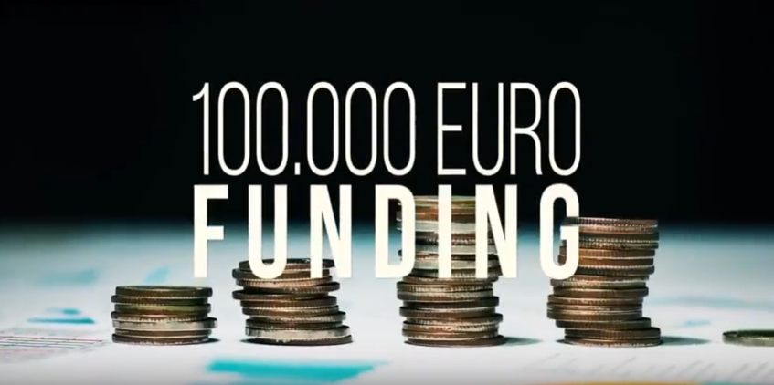 360 Lab Accelerator: €100K to €1M in growth capital, access to 47 global test markets